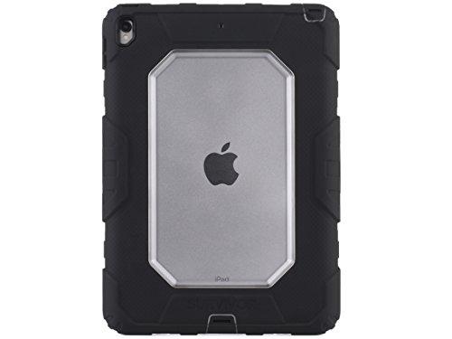 Griffin Survivor All-Terrain Schutzhülle für Apple iPad Pro (2017), 26,67 cm (10,5 Zoll) - Schwarz (Survivor Griffin Ipad 4 Case)