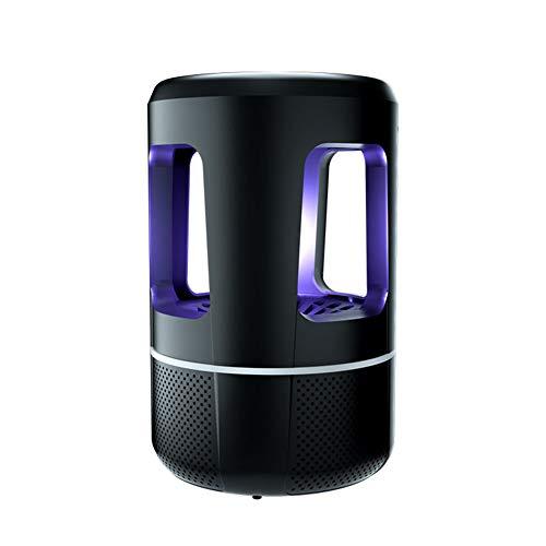 ld_0006 Moskito-Lampe Innenmoskito-Mörder USB-Einsteck Stilles Intelligentes Aufladenmoskito-Abwehrmittel-automatisches Moskito-Blockierartefakt Black