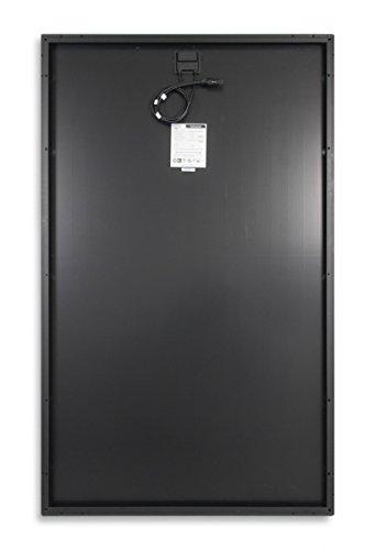 270W Watt Solarmodul Monokristallin - Full Black 24V Volt Solarpanel - BLACK FRIDAY SPECIAL -