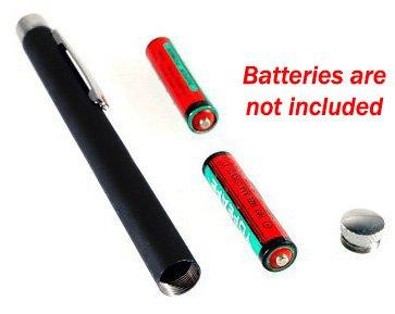 Laser Pen Pointer Ultra Powerful Stainless Steel Red Laser Beam TECHNOPRO®