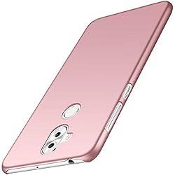anccer Coque ASUS Zenfone 5 Lite, Coque Zenfone 5Q [Serie Mat] Resilient Conception Ultra Mince et Absorption des Chocs Coque pour Zenfone 5 Lite ZC600KL /5Q ZC600KL (Or Rose Lisse)