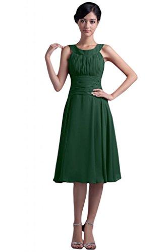 Sunvary elegante, senza A-Line, per damigella d'onore abito da sera, Donna Dark Green