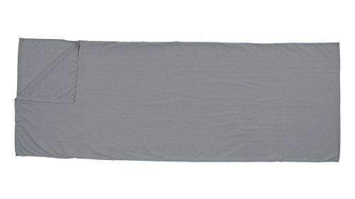 Easy camp, sacco lenzuolo per sacco a pelo rectangle, grigio (grau), taglia unica
