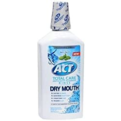 Act Total Care Anticavity Fluoride Rinse for Dry Mouth Soothing Mint
