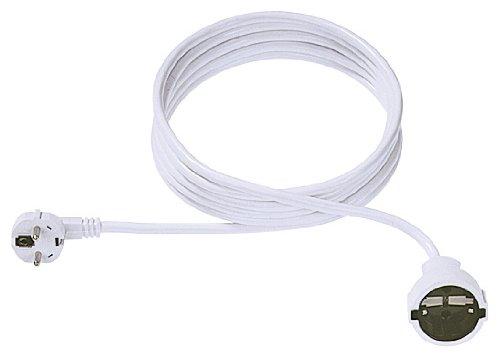Schutzkontakt-Verlängerungskabel, 230VAC, schwarz, 3,0 m