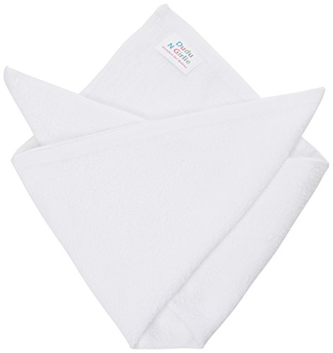 DUDU-N-GIRLIE-12-x-Supreme-Quality-Terry-Toweling-Baby-Nappies-100-Super-Soft-Cotton-Very-Absorbent-Durable