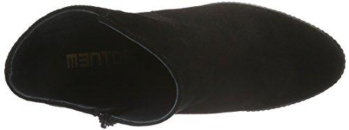 Mentor Damen Ankle Plato Boot Kurzschaft Stiefel Schwarz (Black)