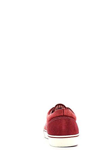 Scarpe CafèNoir für herren aus stoff blau jensato Rot