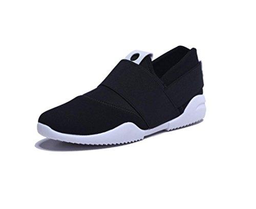 Chaussures de sport chaussures respirants chaussures casual une pédale Black