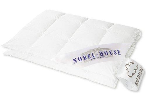 Hanskruchen Nobel House Luxus Daunendecke, Medium, Baumwolle, 200 x 220 cm