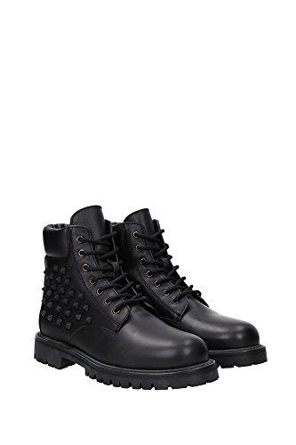 LY0S0951VG7925 Valentino Garavani Chaussure montante Homme Cuir Noir Noir