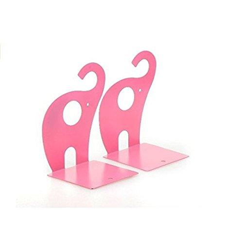 foopp Creative Stationery Cute Elefant Buchstützen Art Buchstütze–Pink (Brief Buchstützen)