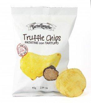 TartufLanghe Trüffel Chips - TruffleChips Patatine con Tartufo 45g