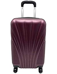 Ryanair & EasyJet Approved Lightweight Hardshell Cabin Hand Luggage Carry-on Suitcase Bag 55 x 21 x 35 cm 2.5 kg 4 Wheels Number Lock - Very Durable - Good Quality - 5 Colors