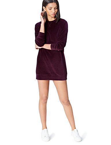 find. Robe Femme, Rouge (Burgundy), 38 (Taille Fabricant: Small)