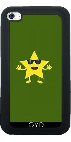 SilikonHülle für Ipod Touch 4 - Stern Mit Sonnenbrille by ilovecotton