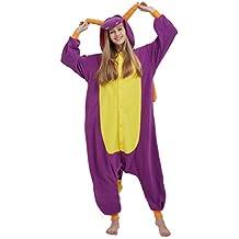 Disfraz de dragón violeta