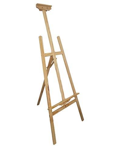 i Holz groß Kinder - Leinwand Ständer zum Malen DREIBEIN mal stativ für Maler 150 cm höhenverstellbar ()