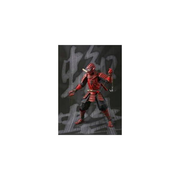 BANDAI MEISHO Manga Realization Samurai Spider Man Action Figure 3