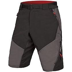 ENDURA Hummvee Short II Pantalón Corto de Ciclismo, Hombre, Gris, L