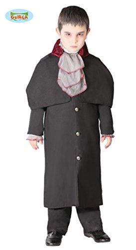 Kinder Lord Vampir Kostüm - Guirca Kleiner Vampir Lord Kostüm für Kinder Gr. 110-146, Größe:128/134