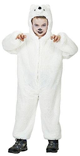 all für Kinder - Gr. 128 (Eisbär Kinder Kostüm)