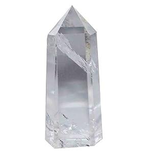 Bergkristall schöne klare Spitze A*Super Qualität aus Brasilien ca. 35 – 40 mm groß (2366)