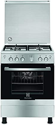 ELECTROLUX 60X60 COOKER, FULL GAS, SELF CLEAN, STEEL, EKG613A1OX+B70
