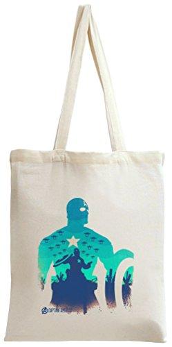 Preisvergleich Produktbild Captain america avengers poster Tote Bag