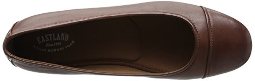 Eastland Gia Large Cuir Chaussure Plate Walnut
