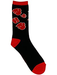 Naruto Shippuden Clouds Mens Crew Chaussettes
