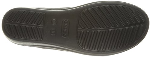 Crocs Sanrah Wedge W, Sandales - Femme Noir (Black/Graphite)