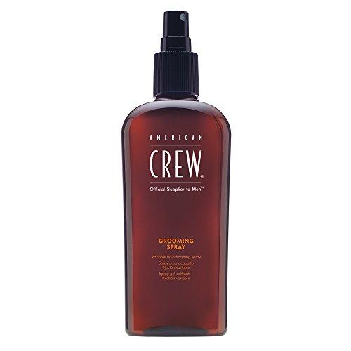 AMERICAN CREW GROOMING SPRAY Antistatisches Finish Spray für Flexiblen Halt - Natürlicher Glanz, 250 ml