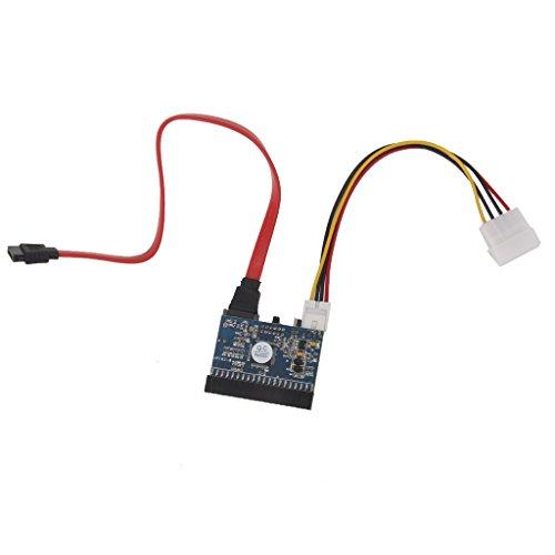 MagiDeal PATA/IDE ATA SATA Schnittstelle Festplatte HDD Adapter Schnittstellenkarte Schalter - Schnittstelle Festplatte