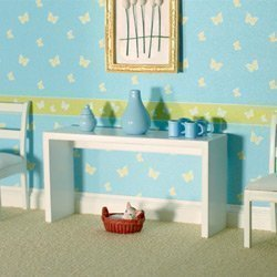 The Dolls House Emporium Blanc Table De Console