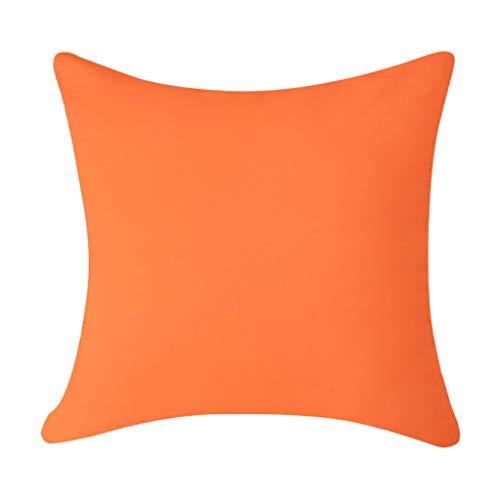 Funda Almohada Impermeable Color Sólido Simple Funda