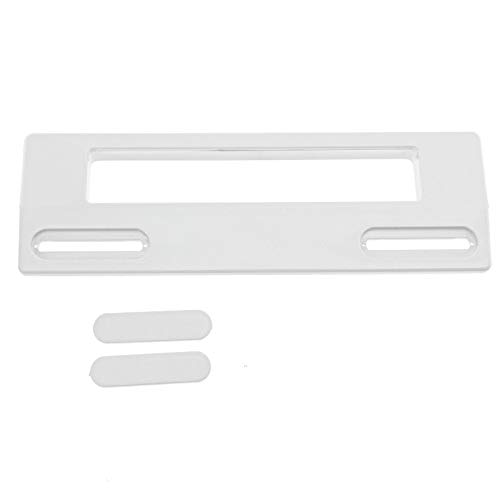 Spares2go manilla para puertas de frigorífico o congelador Beko (190 mm, blanco)