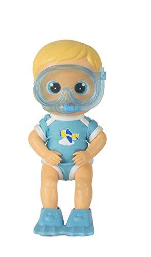IMC Toys- Bloopies Max Amici del Bagnetto, Colore Blu, 95632IM