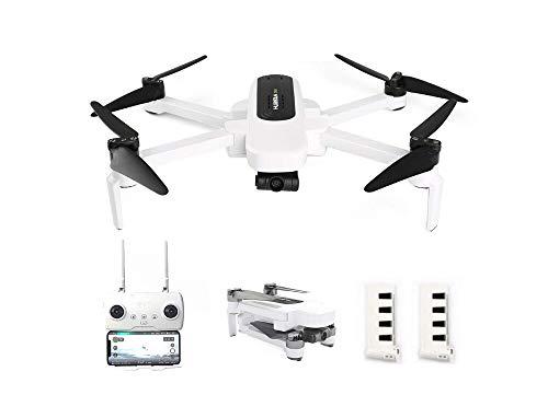 QHJ Für Hubsan Zino H117S Faltbare Drohne 4K-Kamera mit 3-Achsen-Gimbal WiFi 2.5KM APP-Steuerung (Weiß)