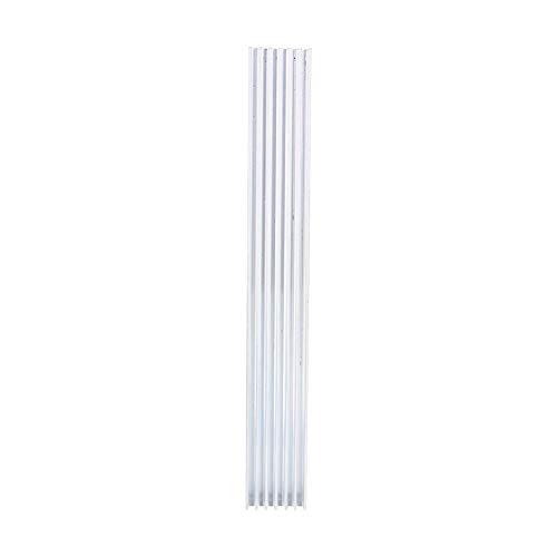 150 * 20 * 6mm Kühlkörper Kühlkörper Aluminium, 20 * 6mm 7 Zähne LED Kühlkörper Diffus Modul Kühler Fin Cooling Fin, MOS-Rohr-Wärmestreifen -