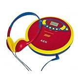 AEG Kids Line CDP 4228 - CD-Player - Blau, Gelb, Rot, 400626