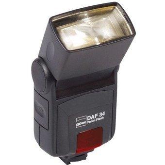 Dörr 370908 DAF-34 Zoom Systemblitzgerät für Nikon Kamera