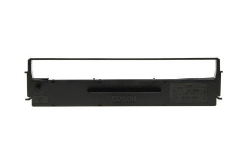 Epson Farbbandkassette LQ-350/300/+/+II, 2.5 Millionen Zeichen, Nylon, schwarz