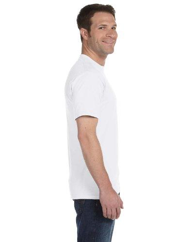 Hanes Men`s 5.2 OZ Heavyweight Short Sleeve T-Shirt White