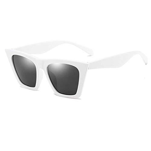 Luckiests Unisex Sonnenbrillen Frauen Männer Kunststoffrahmen Quadrat-Objektiv-Sonnenbrille Anti-UV-Skifahren-Reise Brillen