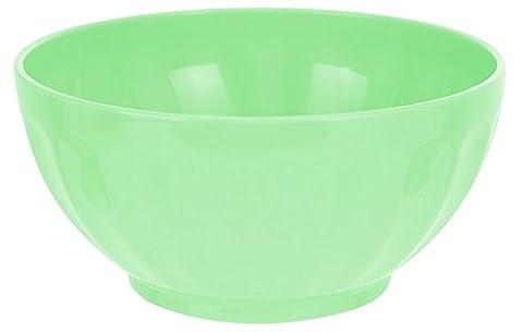 Set von 4Müslischale Kunststoff nicht brechen in pink blau oder grün Suppenteller Camping grün