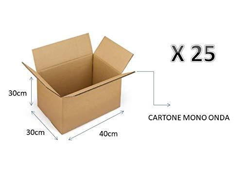 Palucart 20 scatole trasloco 430x300x250 mm scatole cartone cartone scatole imballaggio traslochi imballaggi scatole cartone 43x30x25 cm
