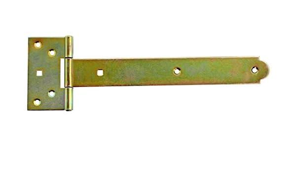 Kreuzgehänge 250mm Scharnier T-Scharniere T-Bänder Schwarz Neu