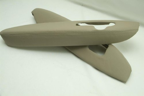 acura-rl-synthetic-leather-armrest-door-panel-covers-tan-beige-set-synthetic-part-only-by-kar-design
