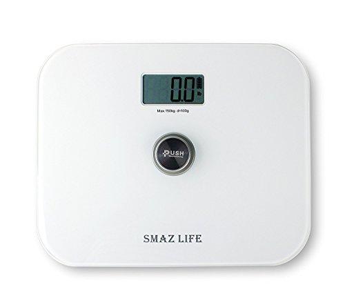 smaz-life-bilancia-da-bagno-digitale-libera-precisione-personale-corpo-scala-con-extra-sottile-vetro